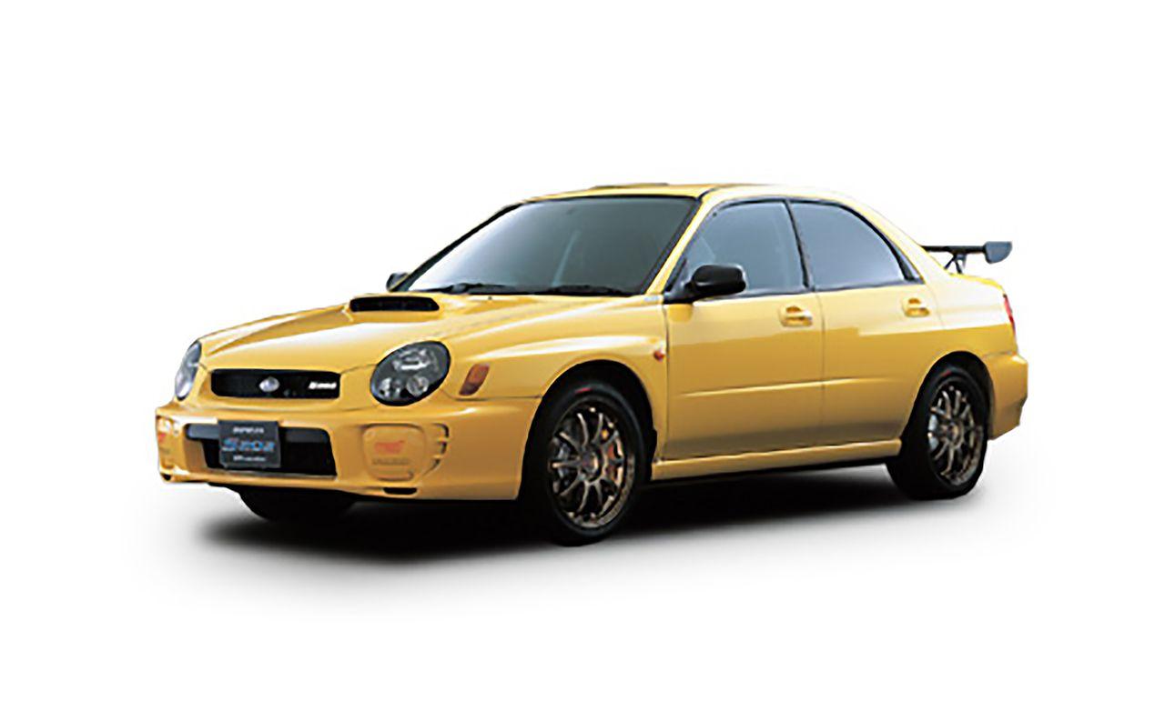 Subaru Impreza STI S202