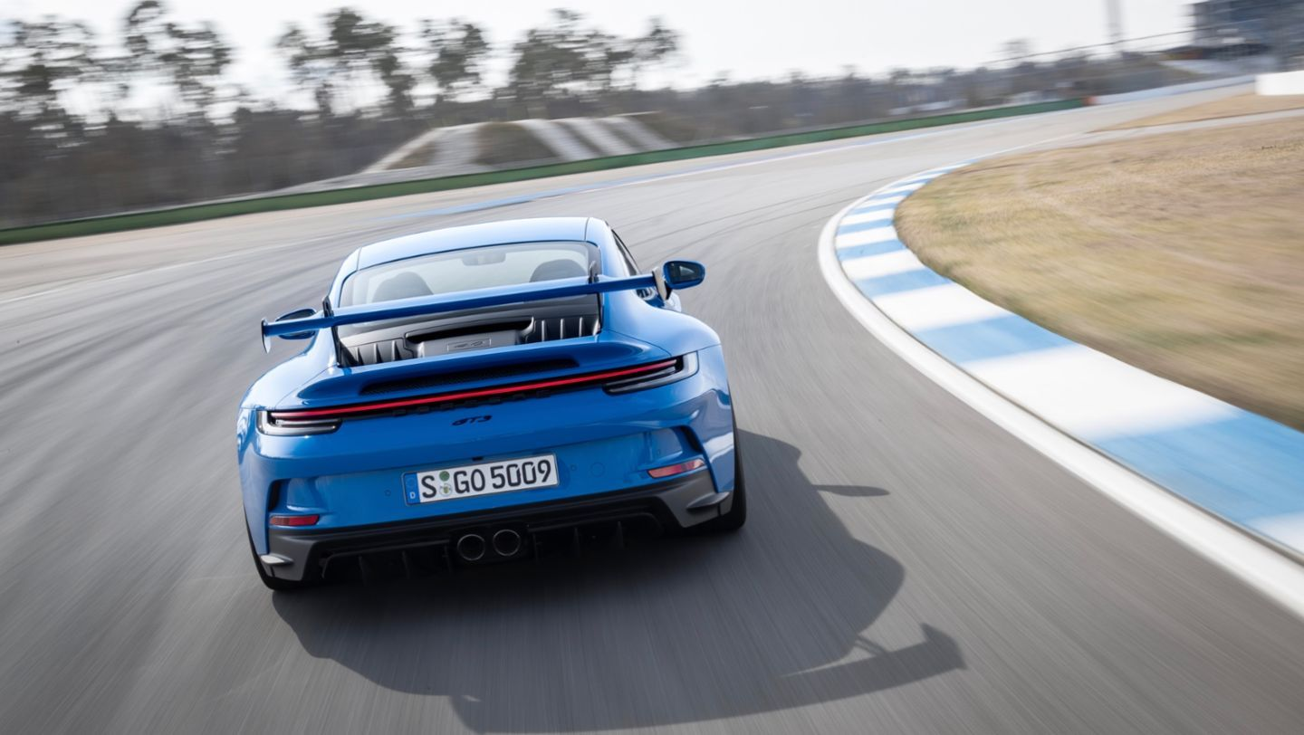Porsche Tested the New 911 GT3 at 186 MPH for 3100 Miles Straight