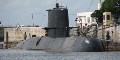 The submarine ARA San Juan