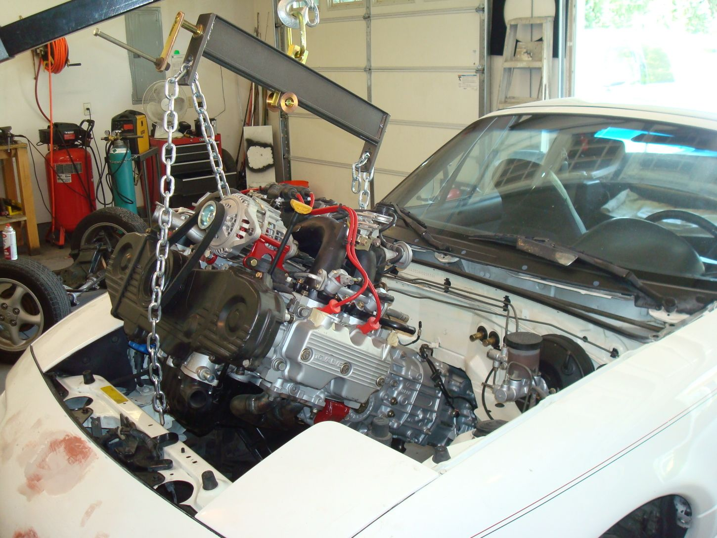 This Swap Kit Puts a Subaru Engine in Your Miata For a Lower Center of Gravity
