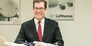 ルフトハンザ ドイツ航空(Deutsche Lufthansa) 日本・韓国 支社長を務めるドナルド・ブンケンブルク(Donald Bunkenburg)