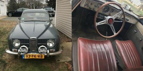 Land vehicle, Vehicle, Car, Classic car, Coupé, Sedan, Classic, Vintage car, Mid-size car, Volvo amazon,