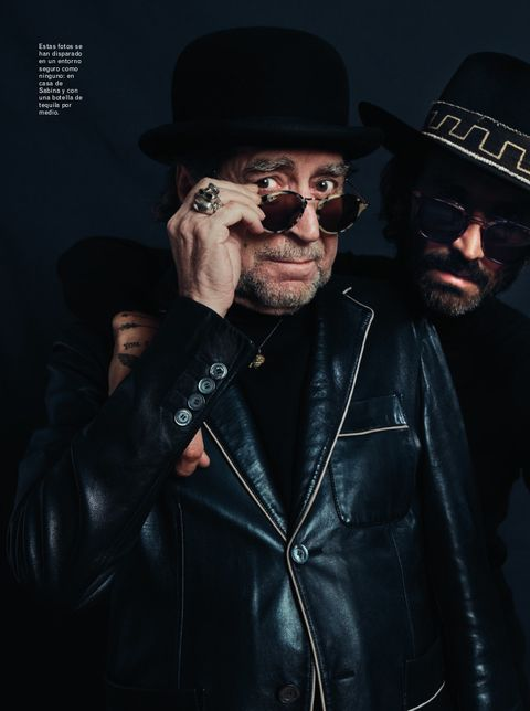 uno de los personajes del número de enero de esquire