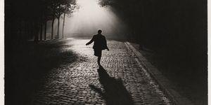Sabine Weiss, Parigi, notte, strada