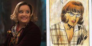 chilling adventures of sabrina tv vs comics