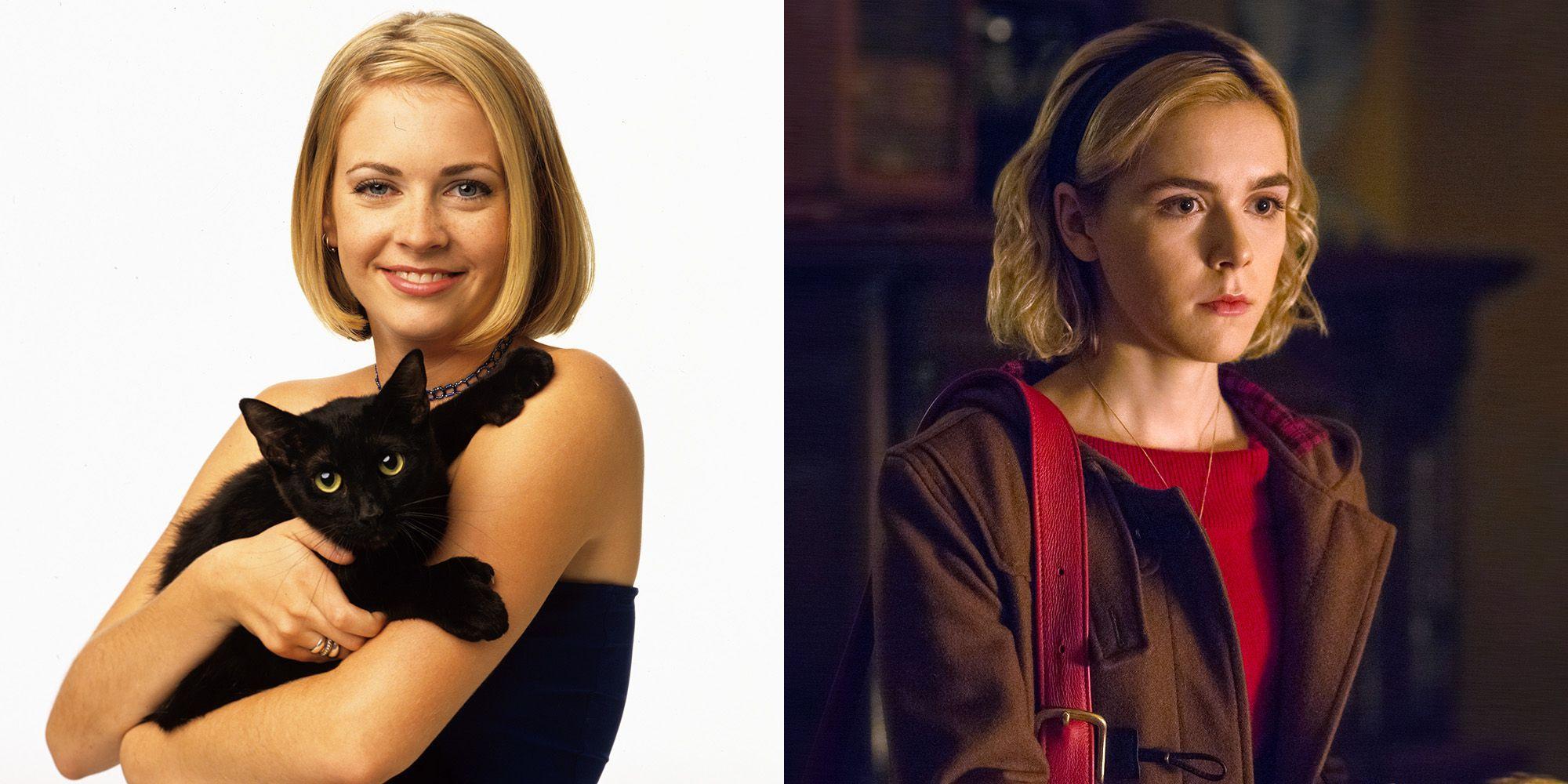 'Las escalofriantes aventuras de Sabrina' y su genial homenaje a la Sabrina original