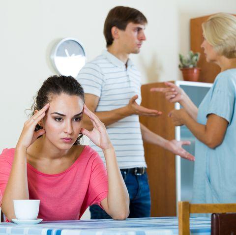 divorce expert tips -in-laws