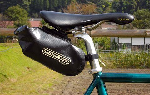 A saddlebag.