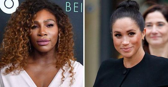 "Serena Williams Supports Meghan Markle Amidst ""Negative"" Media Coverage"