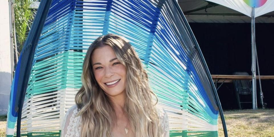 LeAnn Rimes Just Rocked A Nearly Nude Dress And Fans Are Going Wild