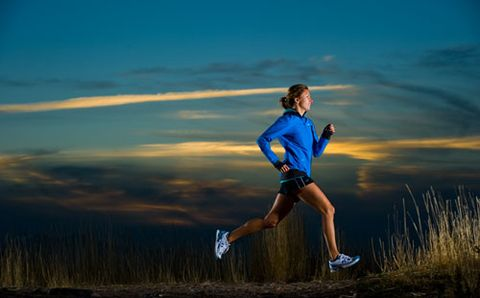 Why Running in the Dark Feels Harder