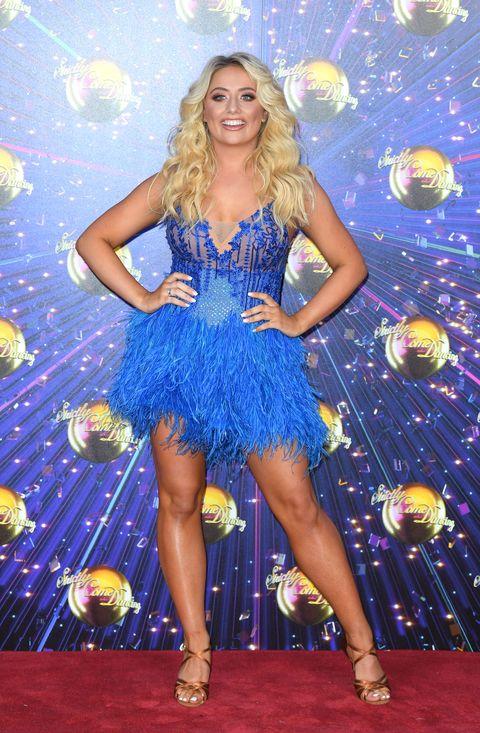 Saffron Barker, Strictly Come Dancing launch red carpet