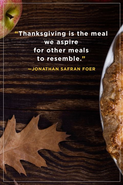 Safran Foer Thanksgiving Quotes