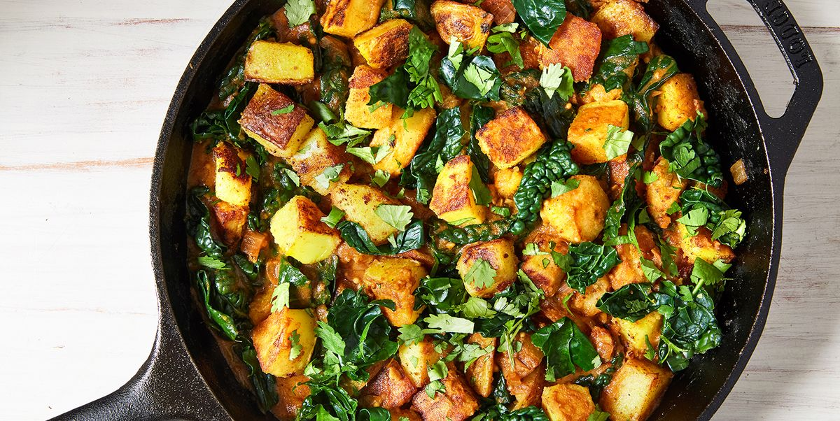 Sag Aloo Is The Only Way We're Eating Potatoes From Now On
