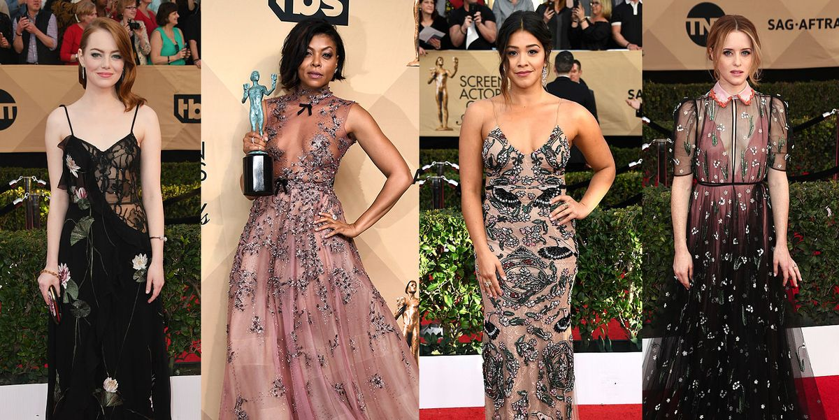 55 Gorgeous Outfits From The 2017 SAG Awards