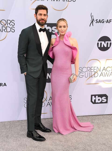SAG Awards 2019, Emily Blunt and John Krasinski