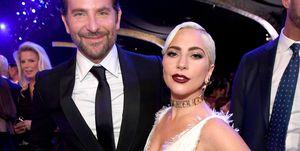 Lady Gaga en Bradley Cooper bij de Sag Awards van 2019