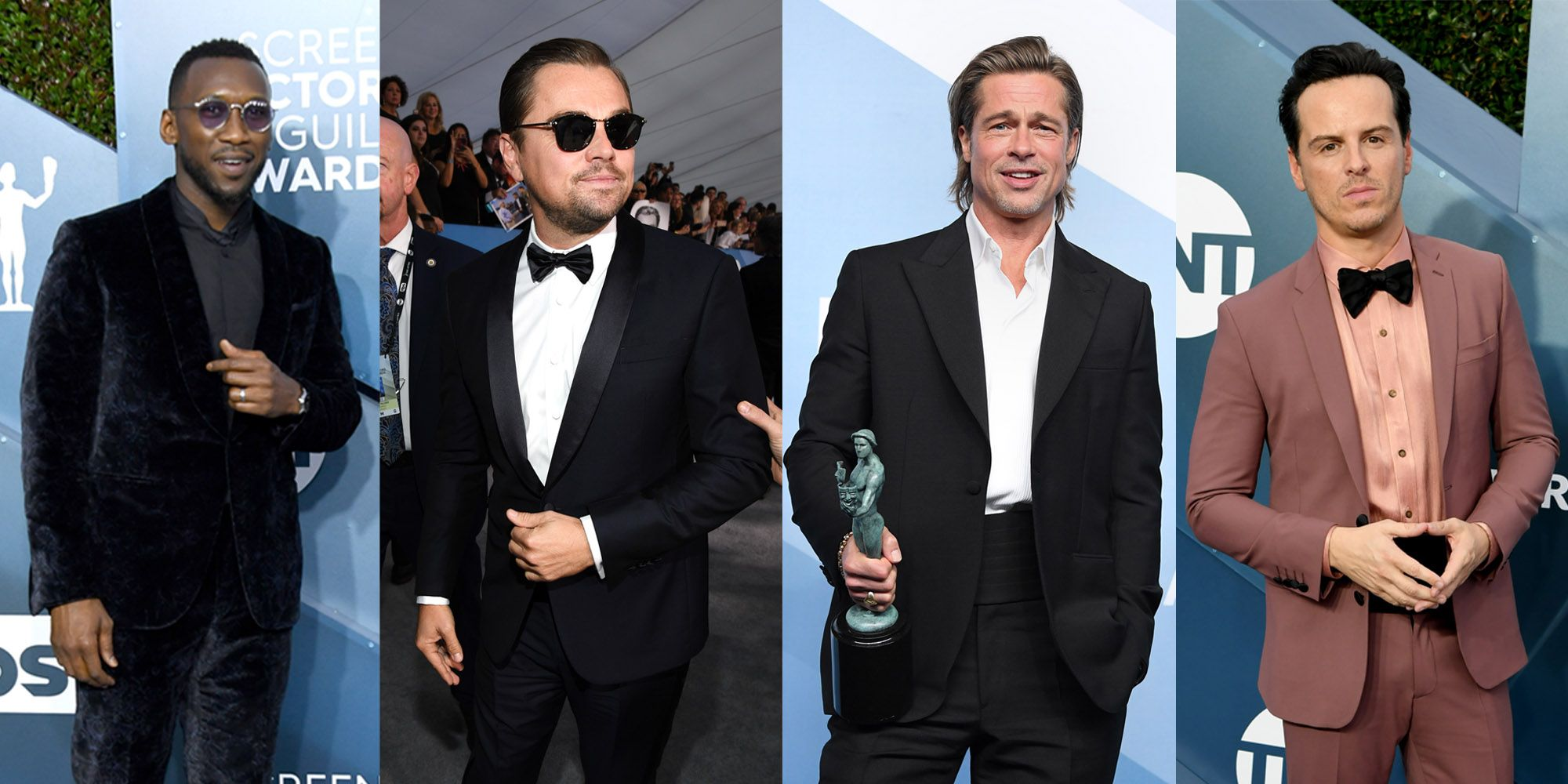 The Best-Dressed Men At The 2020 SAG Awards Broke All The Rules