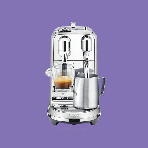 Product, Small appliance, Kitchen appliance, Home appliance, Mixer, Coffeemaker, Cylinder, Espresso machine,