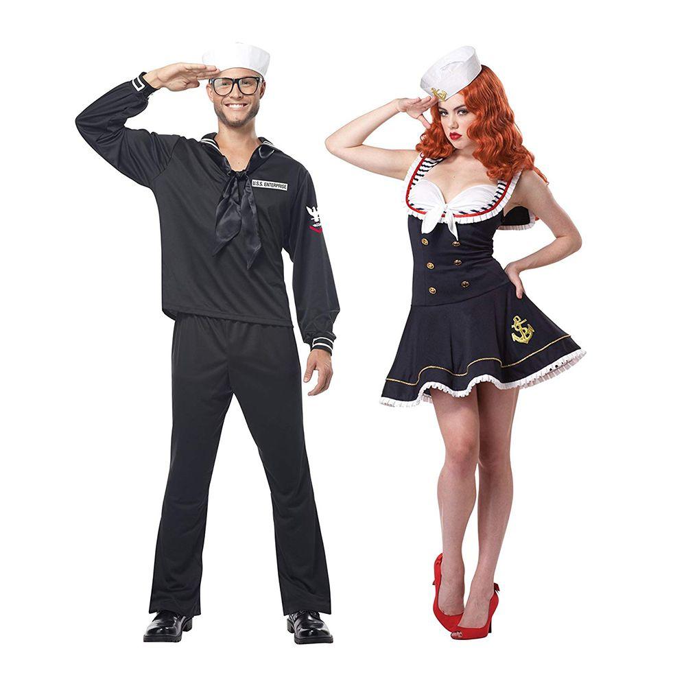 Costume Halloween Duo.16 Best Couples Costumes For Halloween 2019 Duo Costume Ideas