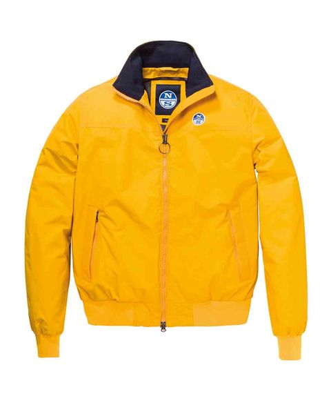 Chaqueta impermeable amarilla de North Sails