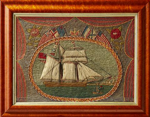 Sailor Woolies Schooner Brig Veranda