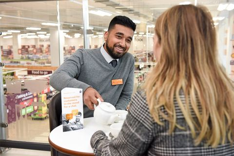 Sainsbury's talking tables loneliness