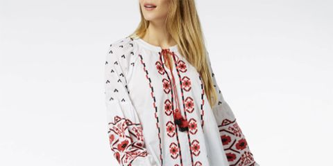 Sainsburys embroidered top