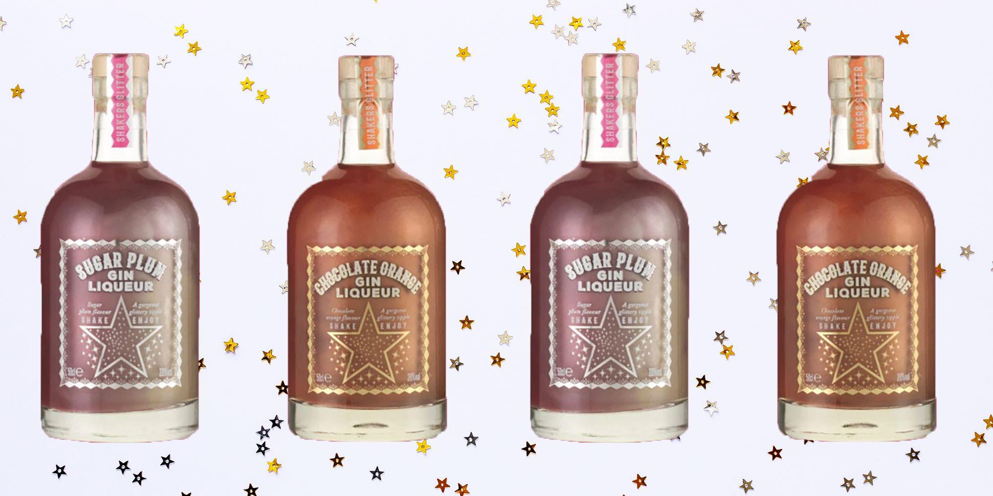 Sainsbury's Is Selling Glittery Sugar Plum and Chocolate Orange Gin Liqueurs