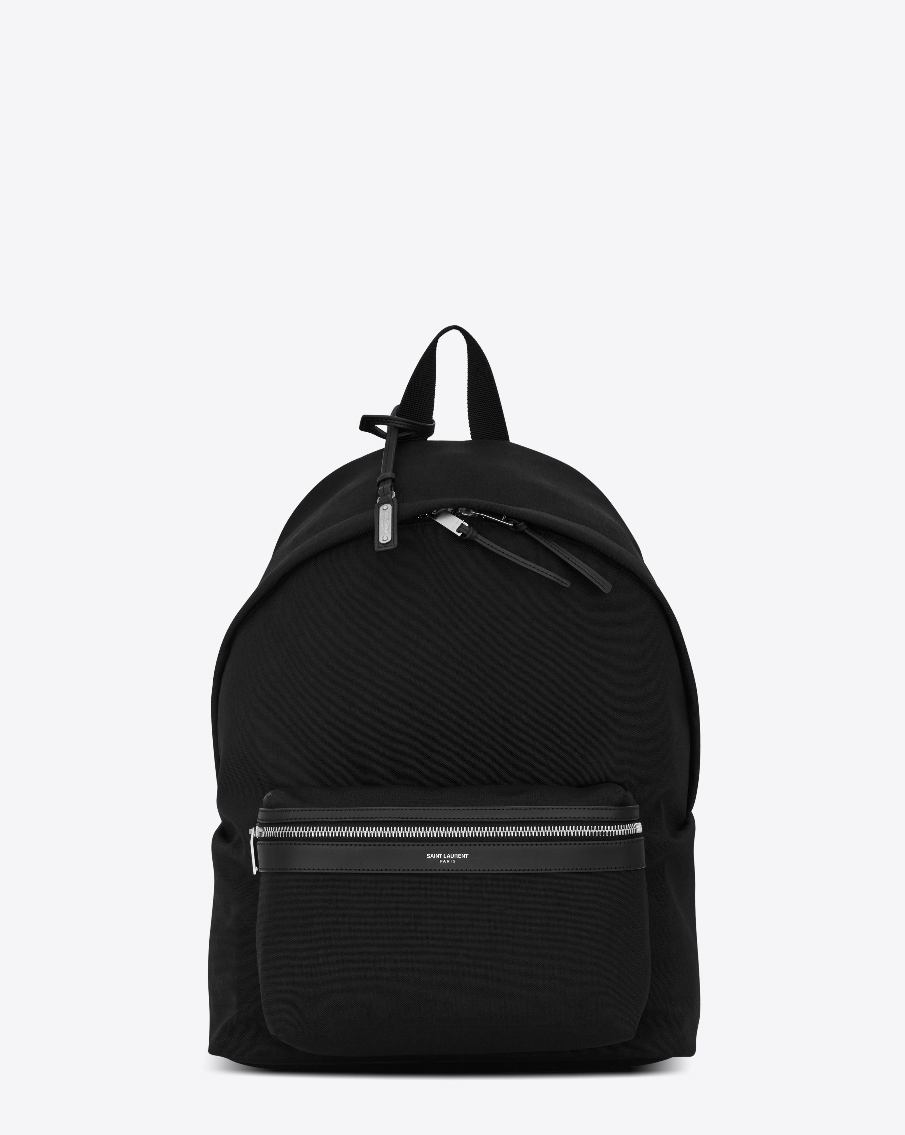 Saint Laurent Releases First Luxury Smart Backpack