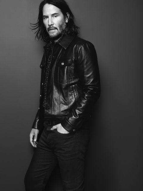 6eb08a7b302 Keanu Reeves Stars in Saint Laurent's Menswear Campaign