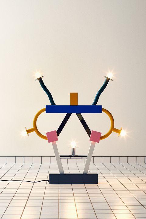 saint laurent memphis collection collaboration furniture lighting