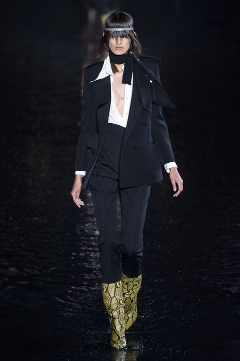 Saint Laurent, Saint Laurent Women SS 19, Paris fashion week, fashion week, primavera estate 2019, real time women SS 19