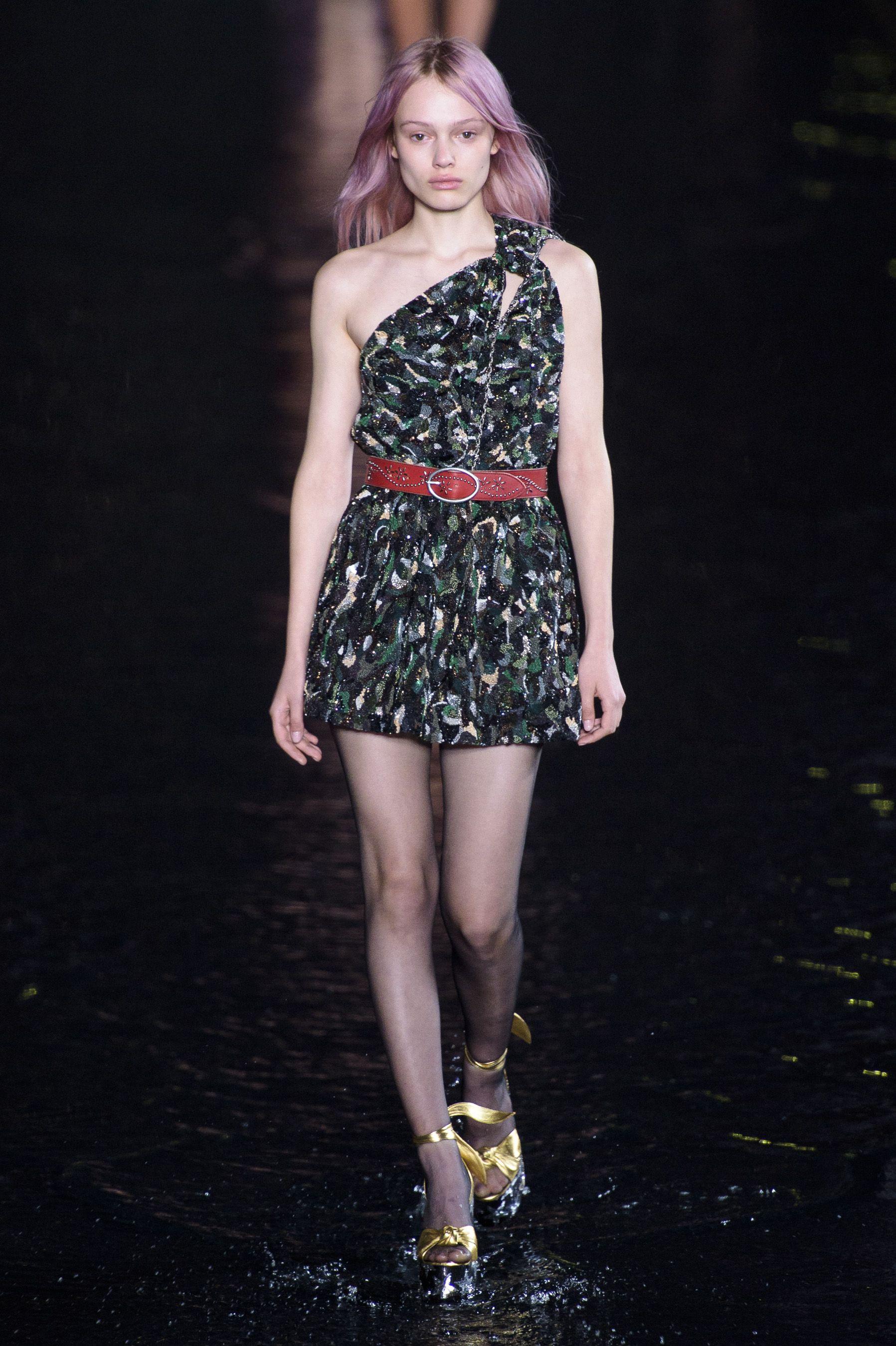 21fe6f2e742 95 Looks From Saint Laurent Spring Summer 2019 MYFW Show – Saint Laurent  Runway at Paris Fashion Week