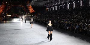 Saint Laurent catwalk