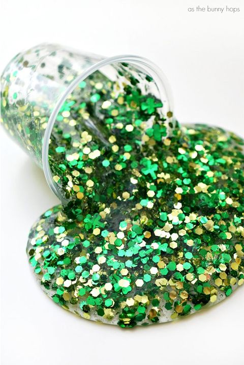 saint-patricks-day-crafts-green-glitter-slime