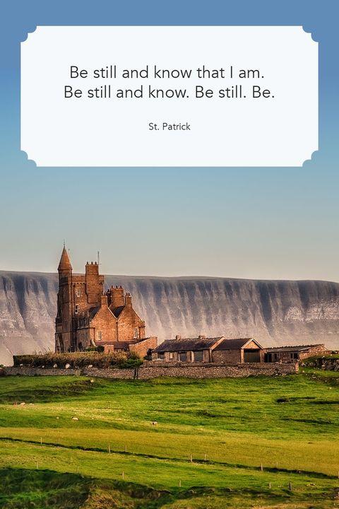 Saint Patricks Day Quotes Be Still