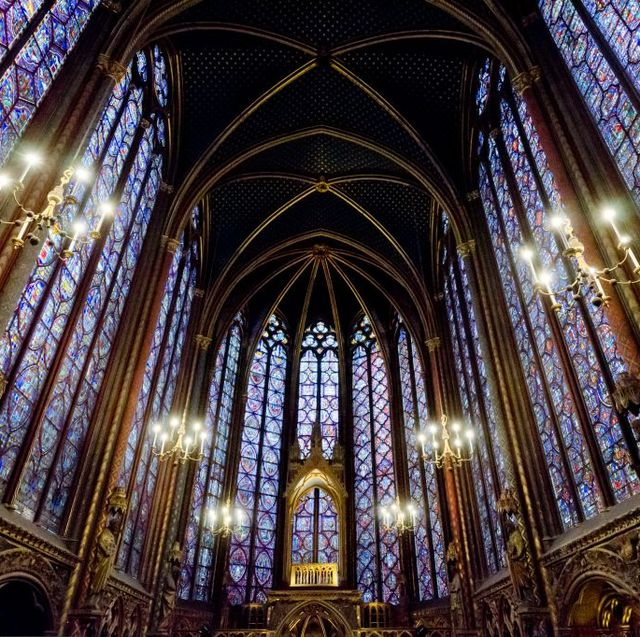 most beautiful churches in paris sainte chapelle veranda
