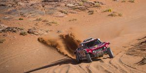 Sainz Dakar Etapa 3