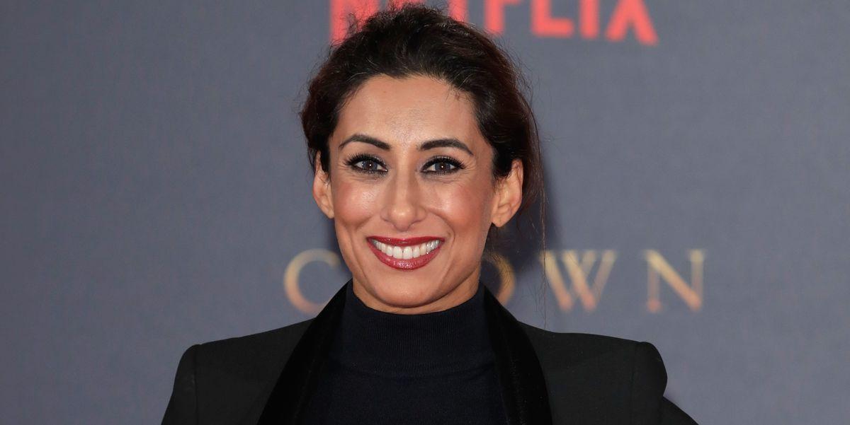 Saira Khan shows off a shorter, sleeker new take on her trademark bob hair cut