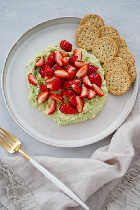Dish, Food, Cuisine, Ingredient, Strawberry, Produce, Bruschetta, Staple food, Baked goods, Strawberries,