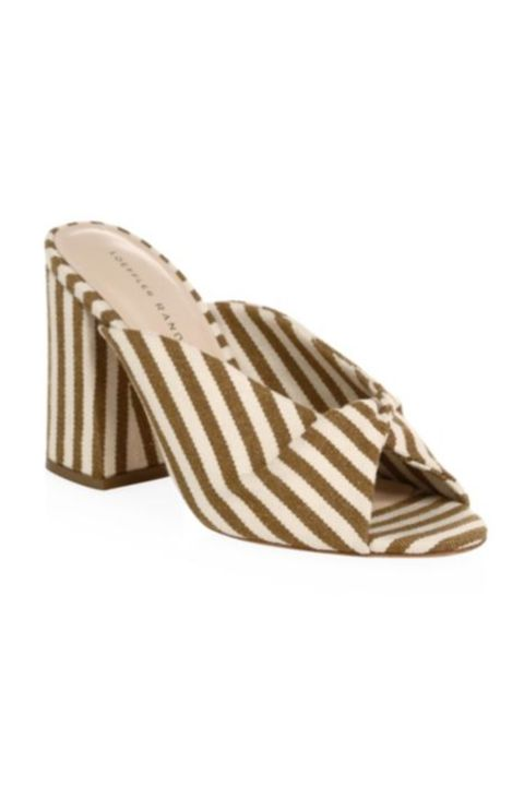 Footwear, Shoe, Beige, Brown, Tan, Slingback, Sandal, Court shoe, High heels,