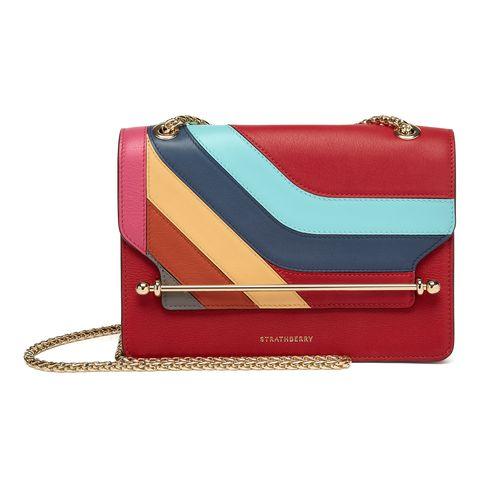 Handbag, Bag, Red, Fashion accessory, Leather, Wallet, Coin purse, Material property, Magenta, Shoulder bag,