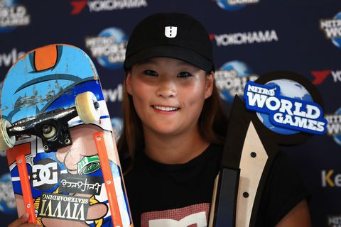 Nitro World Games Skateboard Park and Vert Competitions 四十住さくら