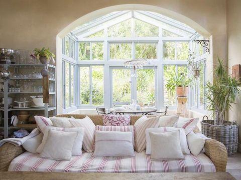 Room, Interior design, Furniture, Home, Living room, Wall, Interior design, Couch, Fixture, Flowerpot,