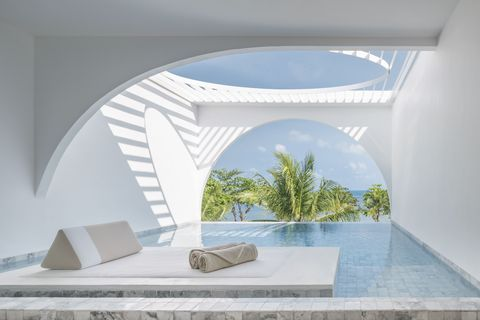 White, Property, Architecture, Room, House, Interior design, Building, Arch, Home, Design,