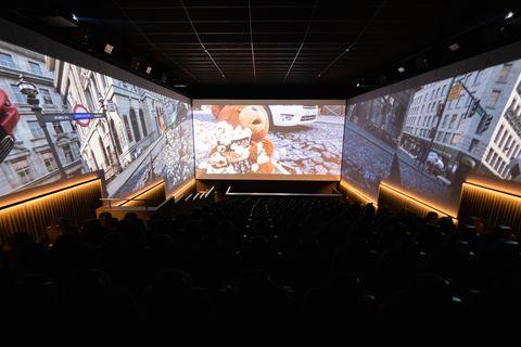 Triple pantalla de los Filmax Gran Vía