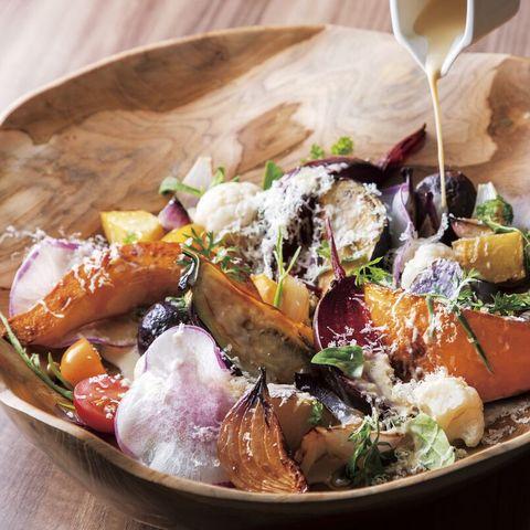 ロースト野菜のサラダ