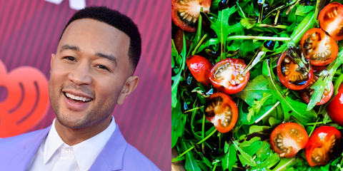 John Legend Eats Salad For Breakfast Every Single Day And Even Chrissy Teigen Thinks It's Weird