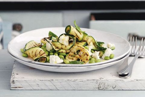 salade gegrilde groenten